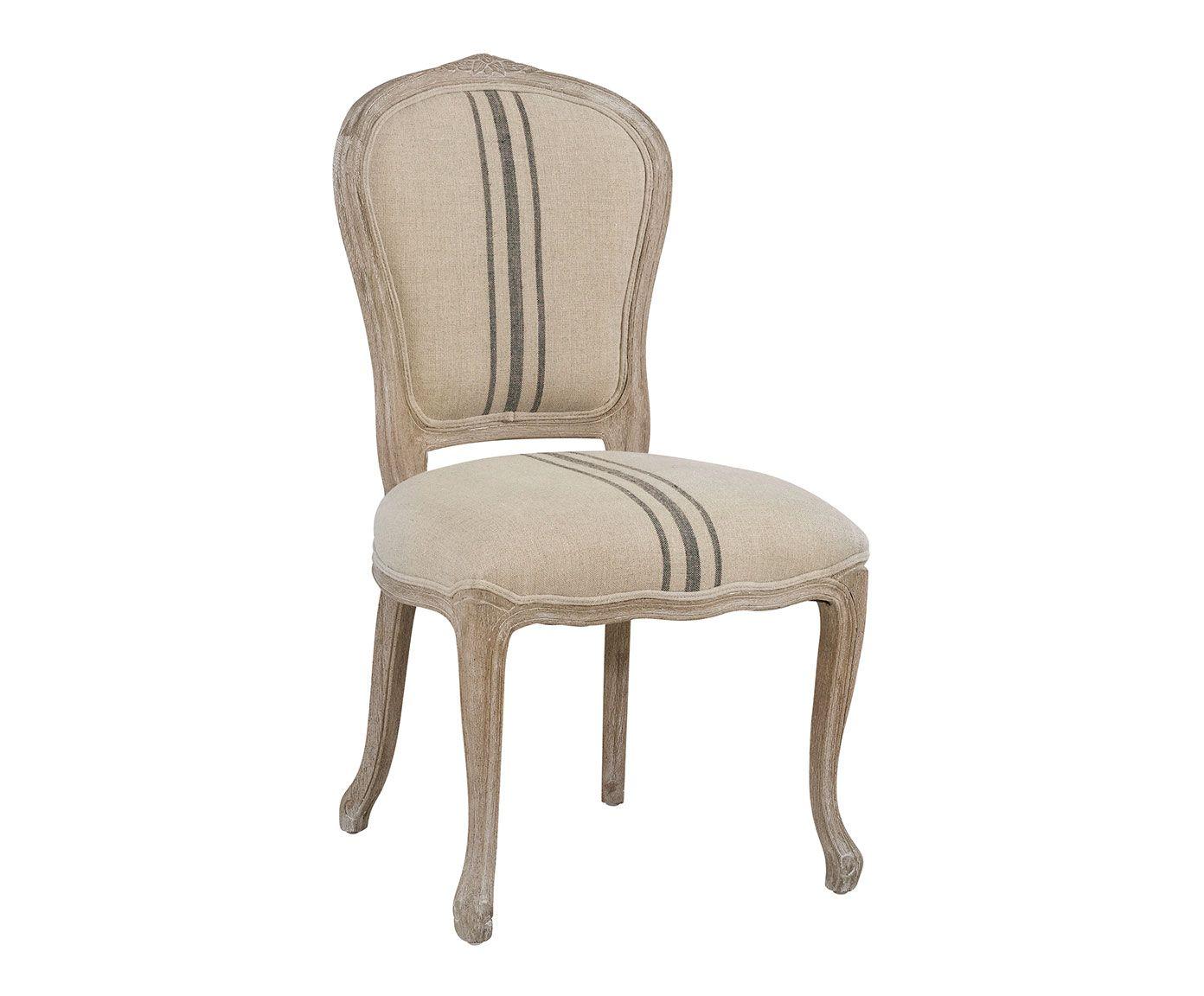 Silla de madera de abedul y algod n tina westwing home living muebles pinterest sillas - Westwing sillas ...