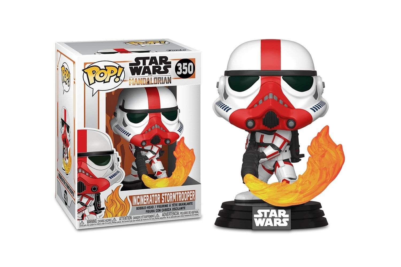 Star Wars The Mandalorian Funko Pop Vinyl Figure Incinerator Stormtrooper Vinyl Figures Pop Vinyl Figures Funko Pop Vinyl