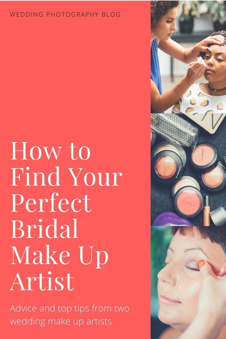 Wedding planning advice: How to find your perfect bridal make up ...