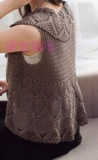 شغل ابره NEEDLE CRAFTS: بوليرو كروشيه مع الباترون - crochet bolero with pattern