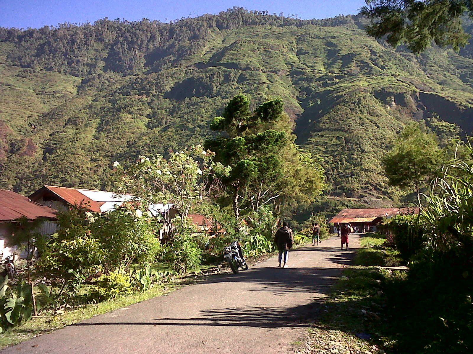 Mulia, Puncak Jaya, Papua   Indonesia, Perjalanan, Kota