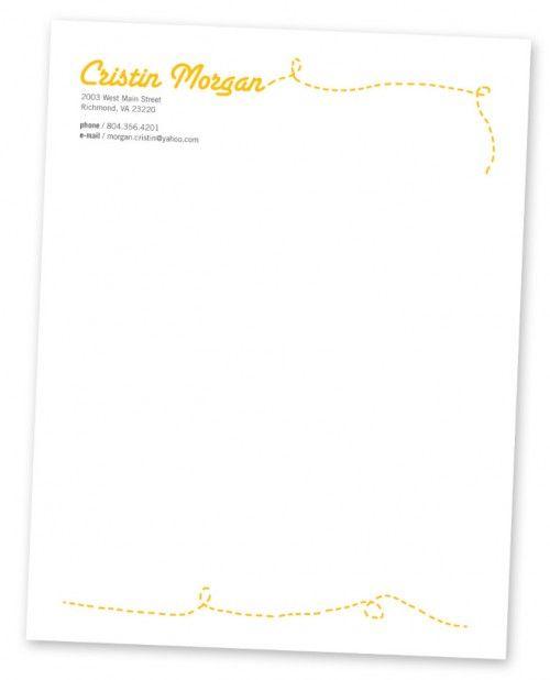 30 Impressive Letterhead Designs Design Pinterest Letterhead - envelope for resume