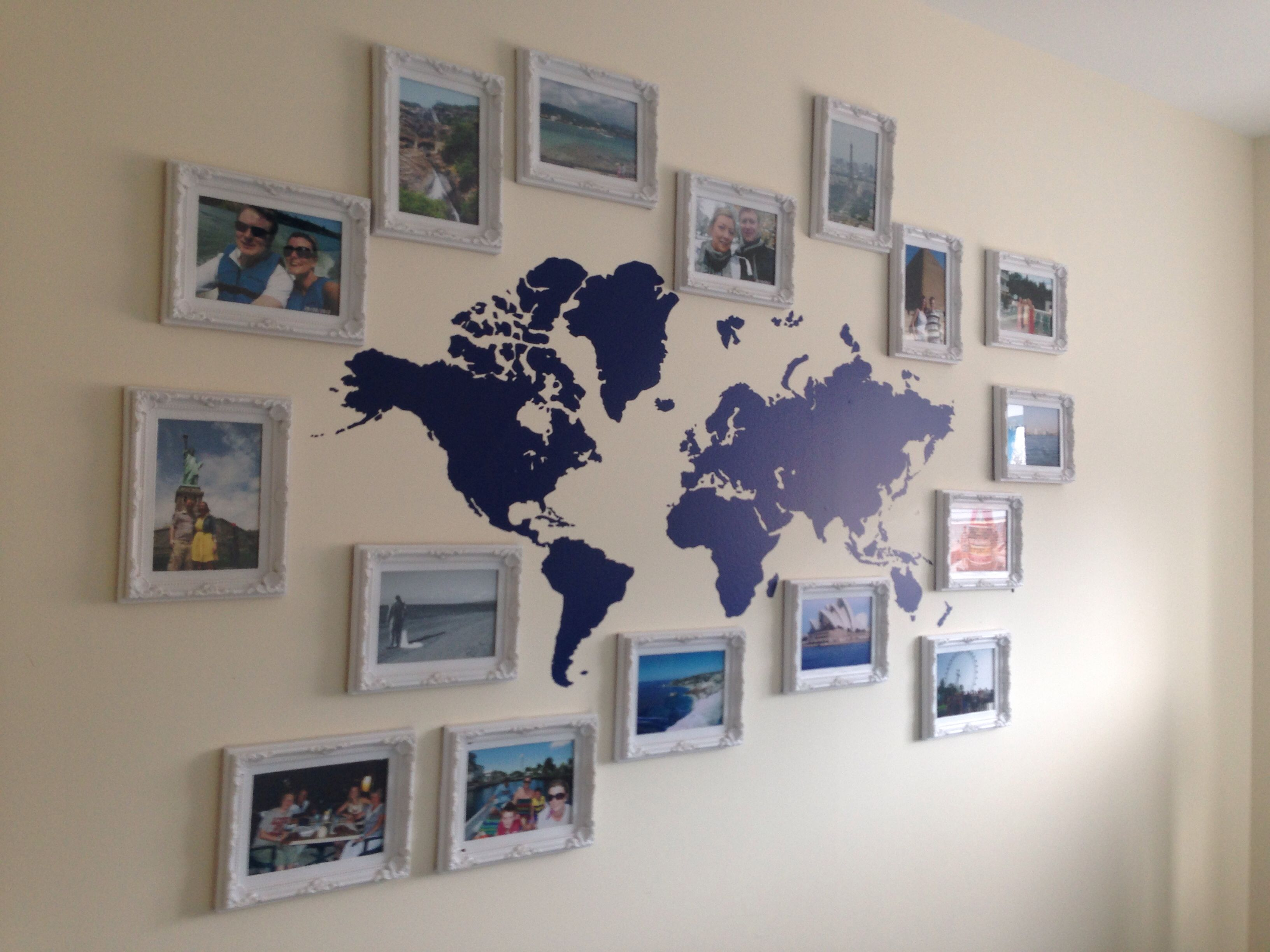 Our travel wall and/or missionaries-we-pray-for wall. | casa ...