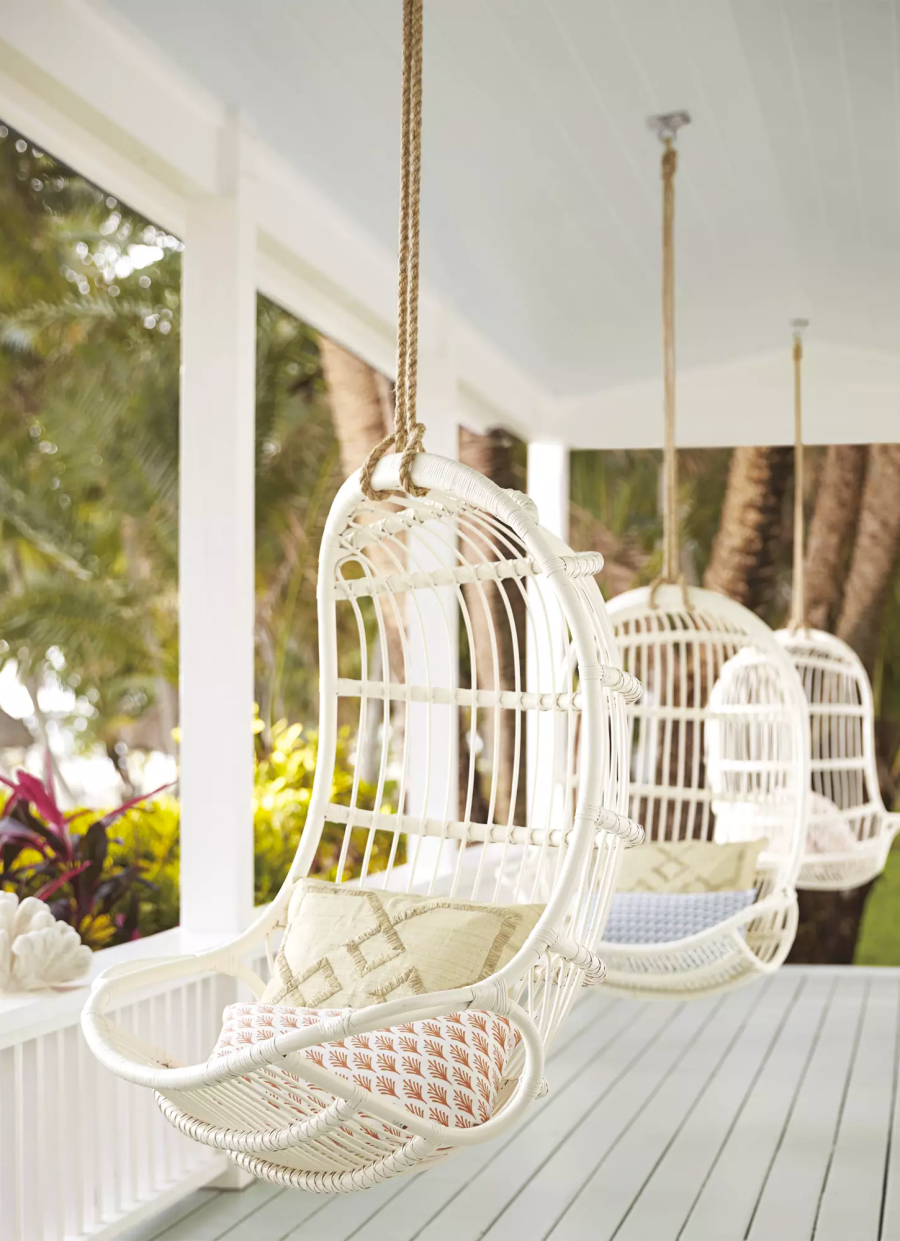 hammocks to lounge in all summer long cocktail in hand