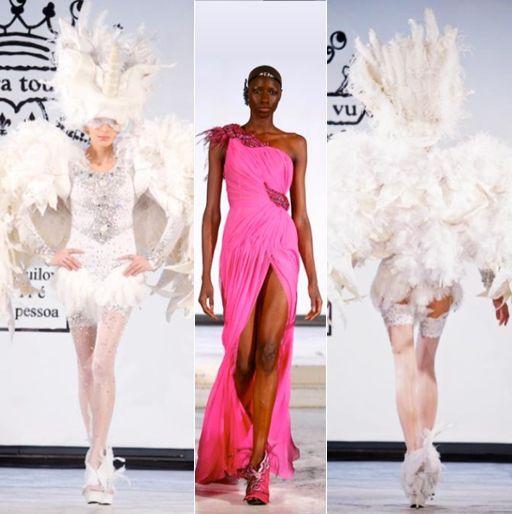On Aura Tout Vu on the runway #luxury #hautecouture #modewalk