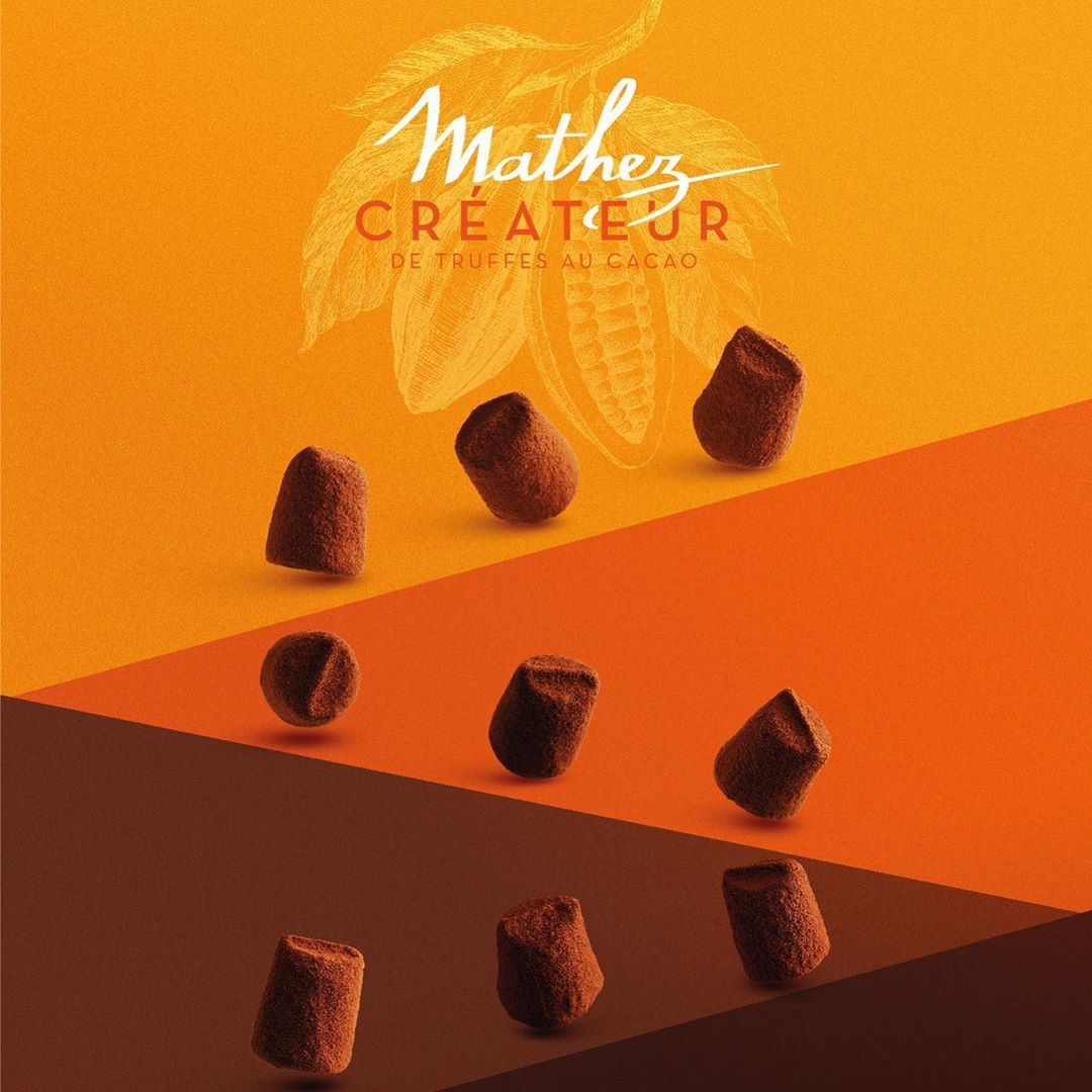 Pour les fêtes de fin dannée faites le choix de lexcellence Choisissez les truffes Chocolat Mahez ! ... #truffesauchocolat