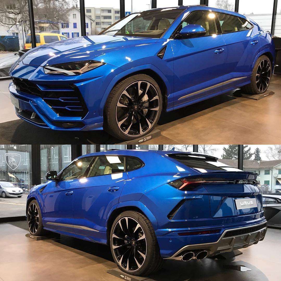 The Lamborghini Urus Love The Specs Color Blu Eleos Blueleos