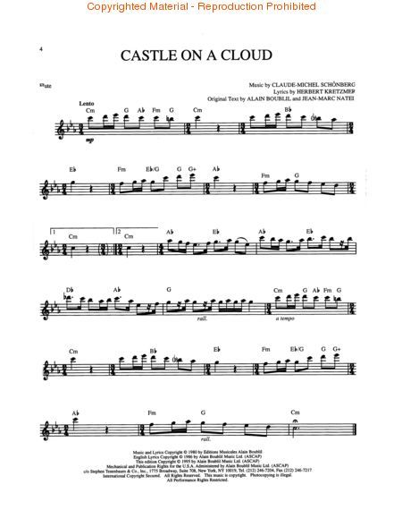 Les Miserables - Flute | Flute Music | Flute sheet music