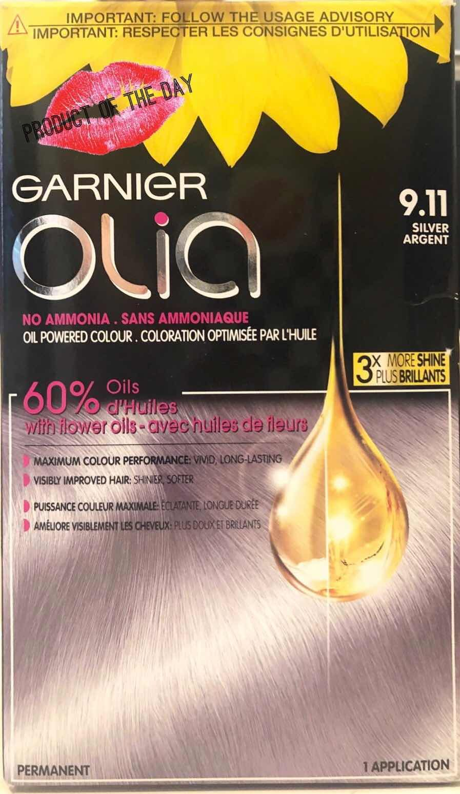 Potd Garnier Olia Hair Colour Silver 9 11 Silver Hair Color