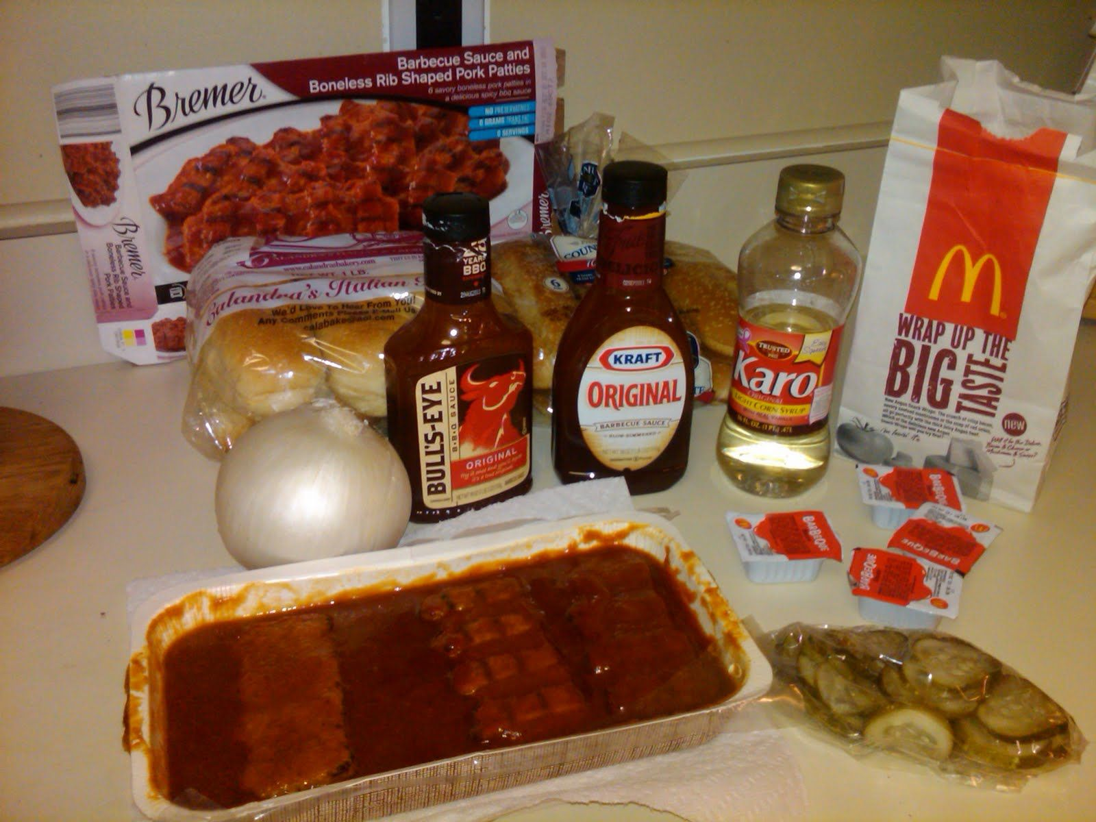 The Condiment Bible: Recipe: How to Make Homemade McRibs
