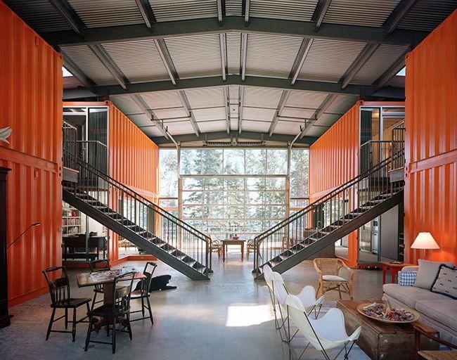 Maison Container : exemples de constructions économiques en ...