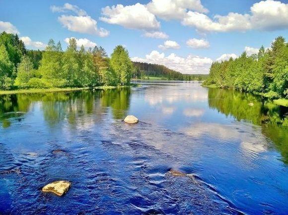 Lake view in Jyväskylä V-M. Paananen