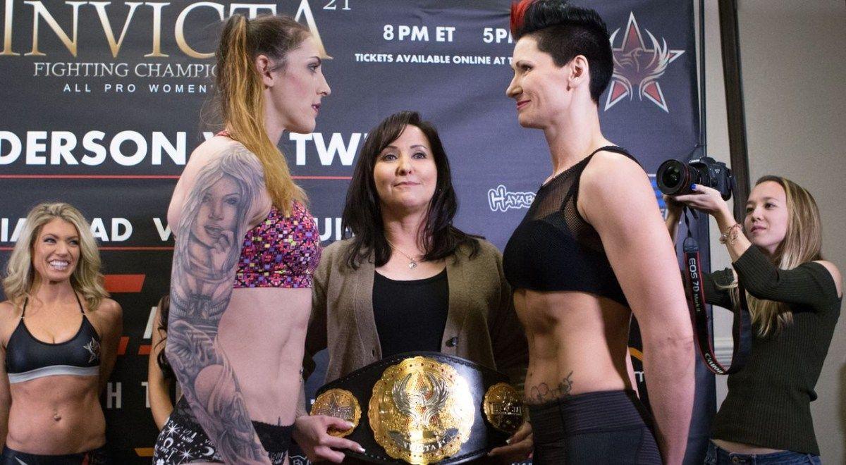 Megan Anderson Blasts Charmaine Tweet To Win Invicta Gold Girl Fights Mma Ufc