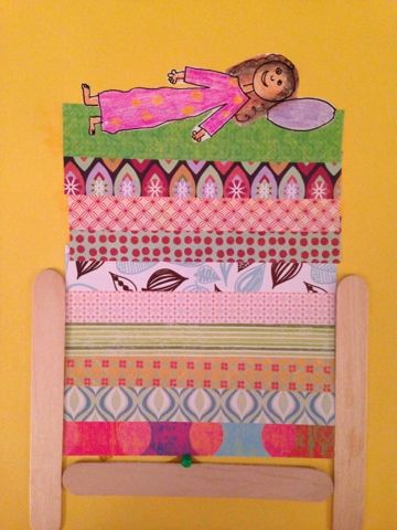 Prinzessin auf der erbse basteln  Inspired Teaching: Search results for Princess and the pea ...