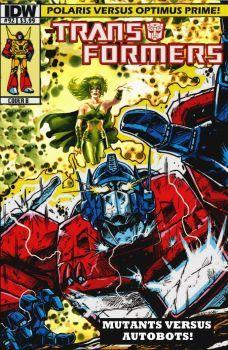 Polaris Vs Optimus Prime By Gwhitmore Transformers Comic Book