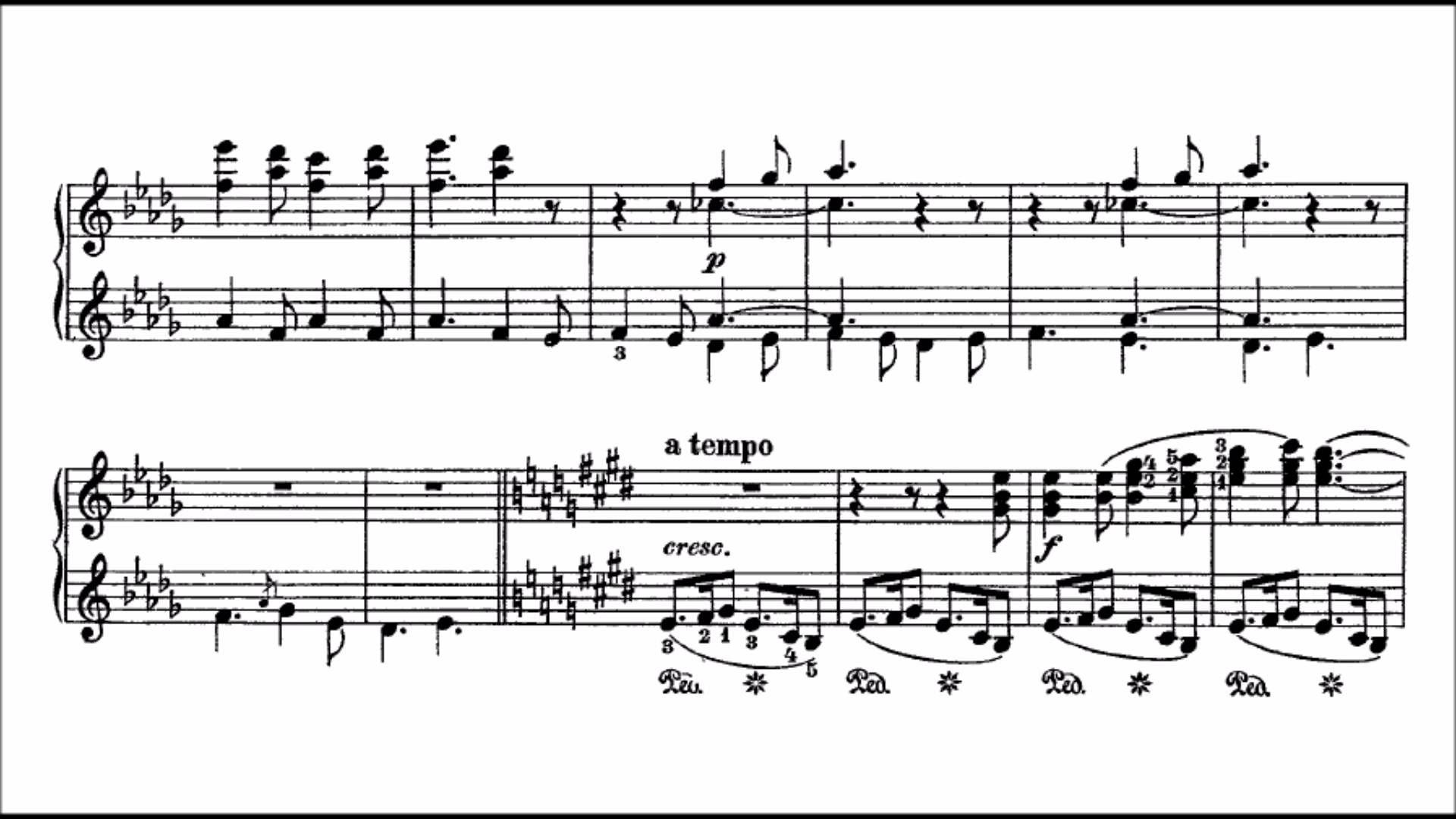 Franz Liszt The Christmas Tree Suite 3 Million Views Finale