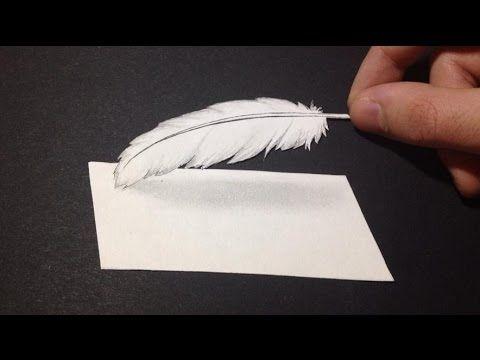 Comment dessiner une plume 3D [Mini-Tutoriel]