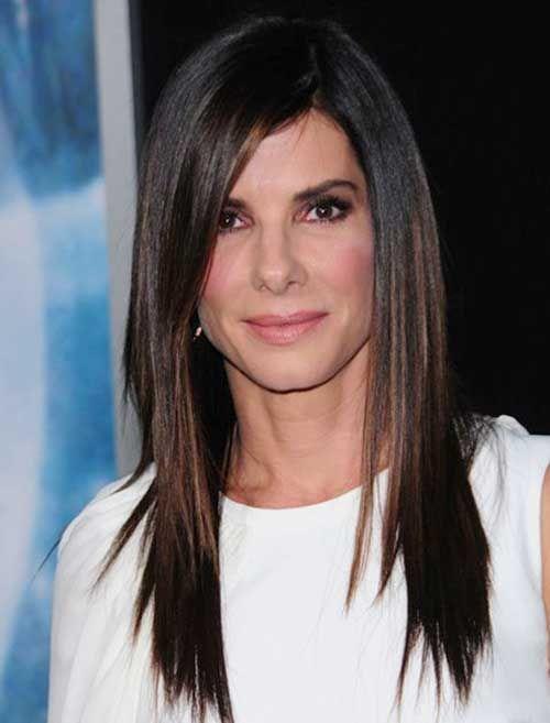 27 glamourösesten langen geraden Frisuren für Frauen - Coole Frisuren