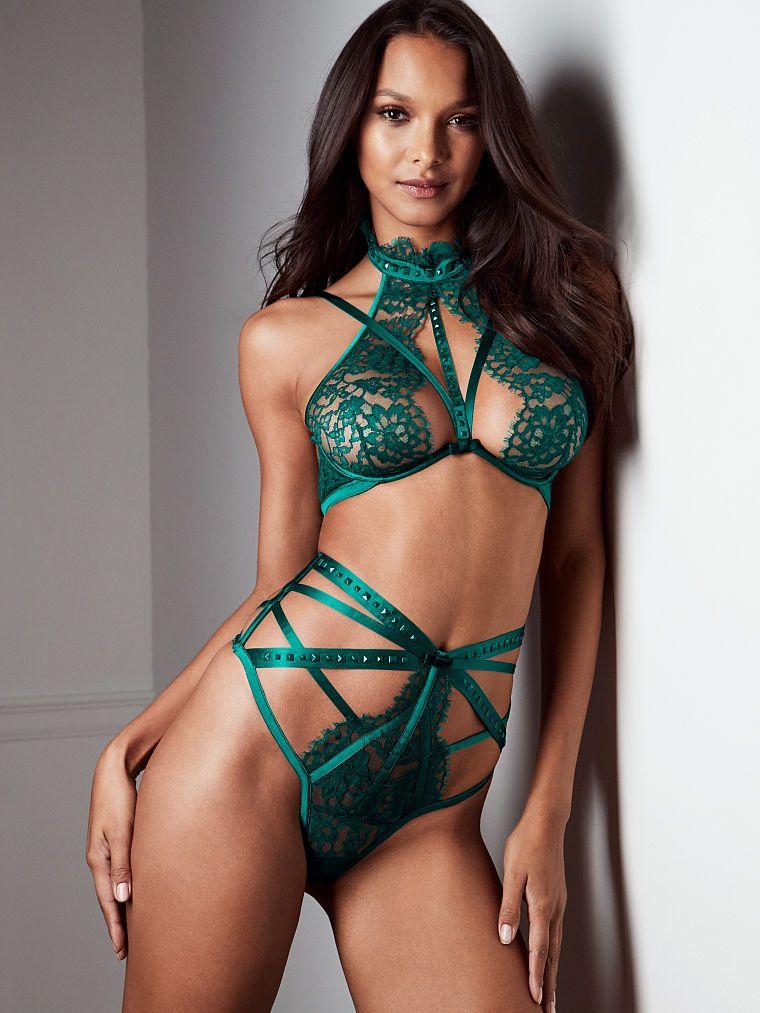 ea21c3efe1dfb Strappy Unlined High-neck Bra - The Victoria s Secret Designer Collection - Victoria s  Secret