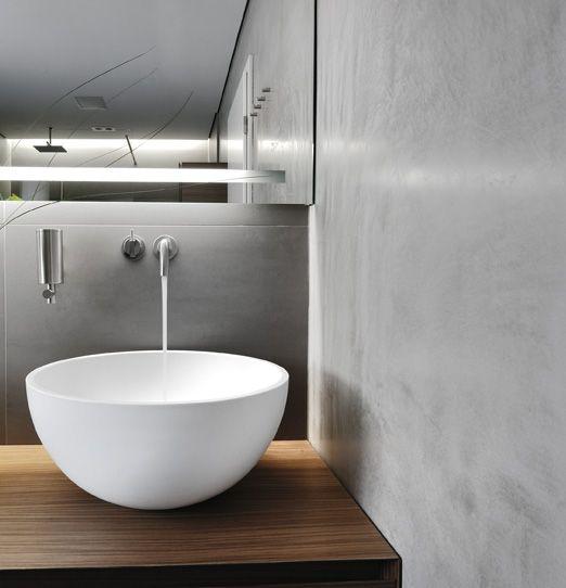 terrastone Natursteinputz Indoor Pinterest Gäste wc - parkett für badezimmer