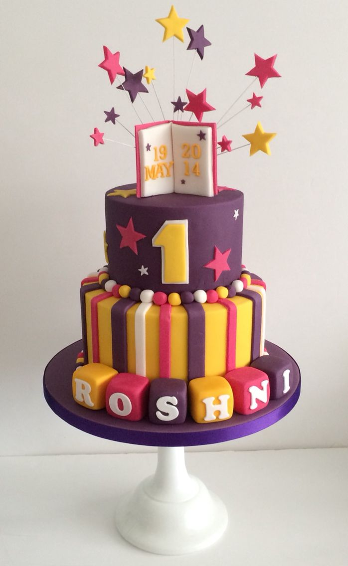 1st Birthday Cake By Kirsty Low Cakeybake My Cakes