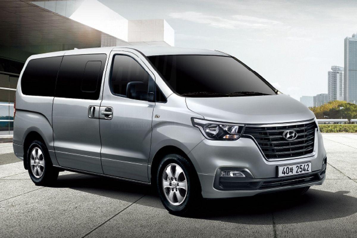 Hyundai H 1 Facelift 2018 Desig Pinterest Vehicle