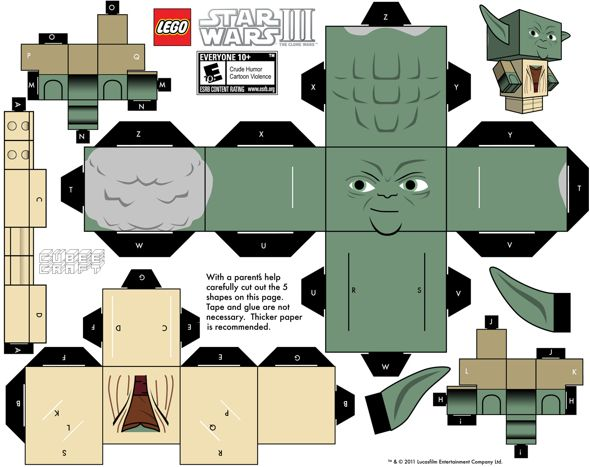 creative fun cubecraft diy 11   15 Cubeecraft Paper Toy Models You Will Want To Make!
