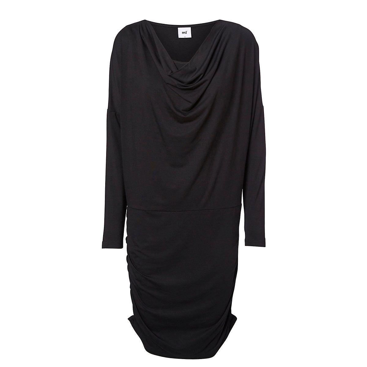 2db734e5e1659 Mamalicious Black Nursing Maternity Dress - maternity dresses - Mothercare