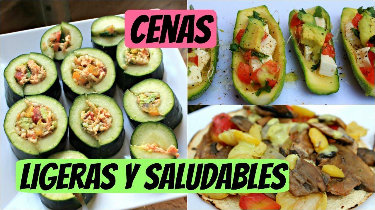 Cenas saludables para adelgazar mexico