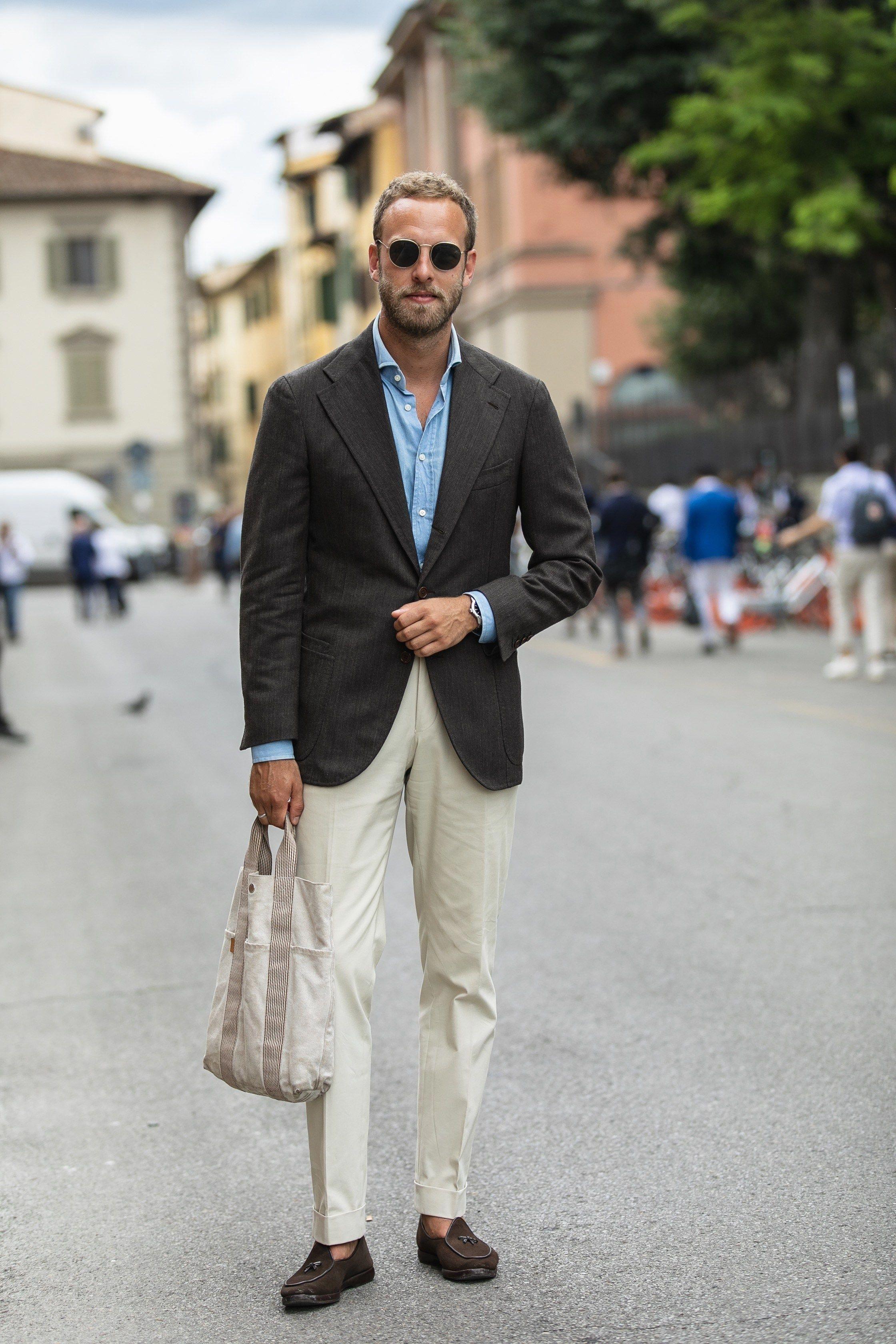 Pitti Uomo 94 Florence Italy Mensfashionsmart Mens Fashion Smart Mens Outfits Spring Outfits Men