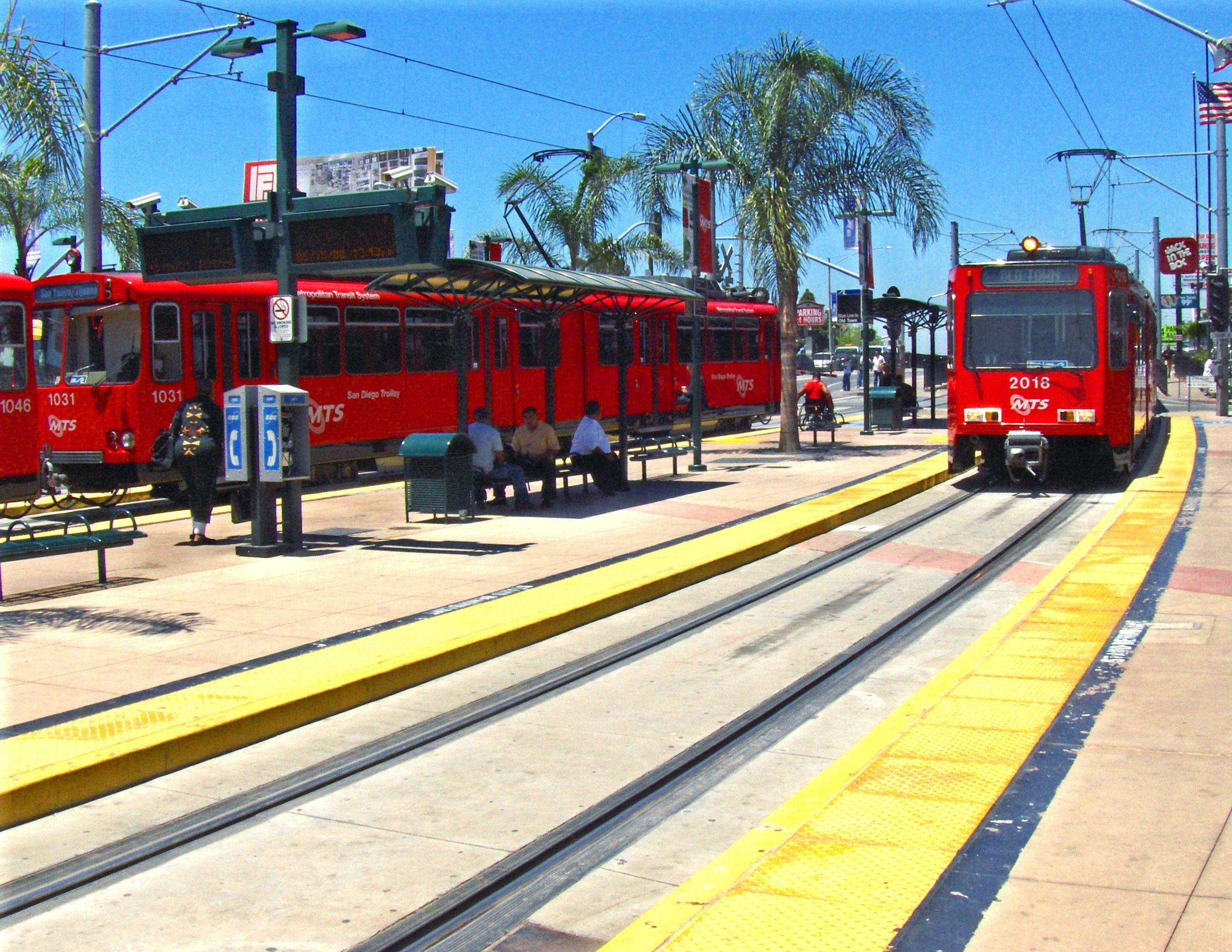 San Diego/Tijuana Trolley | Around My Town | San diego ...