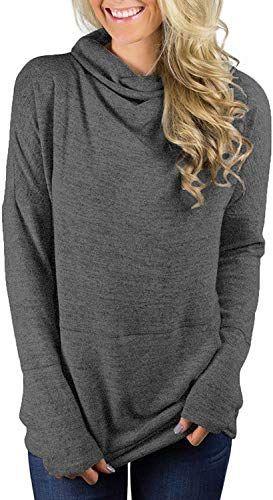 New Seunala Women's High Neck Long Sleeve Pullover Lightwieght Casual Tunic Sweatshirts  Pockets online shopping - Melyssarubyclothing  New Seunala Women's High Neck Long Sleeve Pullover Lightwieght Casual Tunic Sweatshirts with Pock #casual #High #Lightwieght #Long #Melyssarubyclothing #Neck #Online #pockets #pullover #Seunala #Shopping #Sleeve #sweatshirts #tunic #Womens