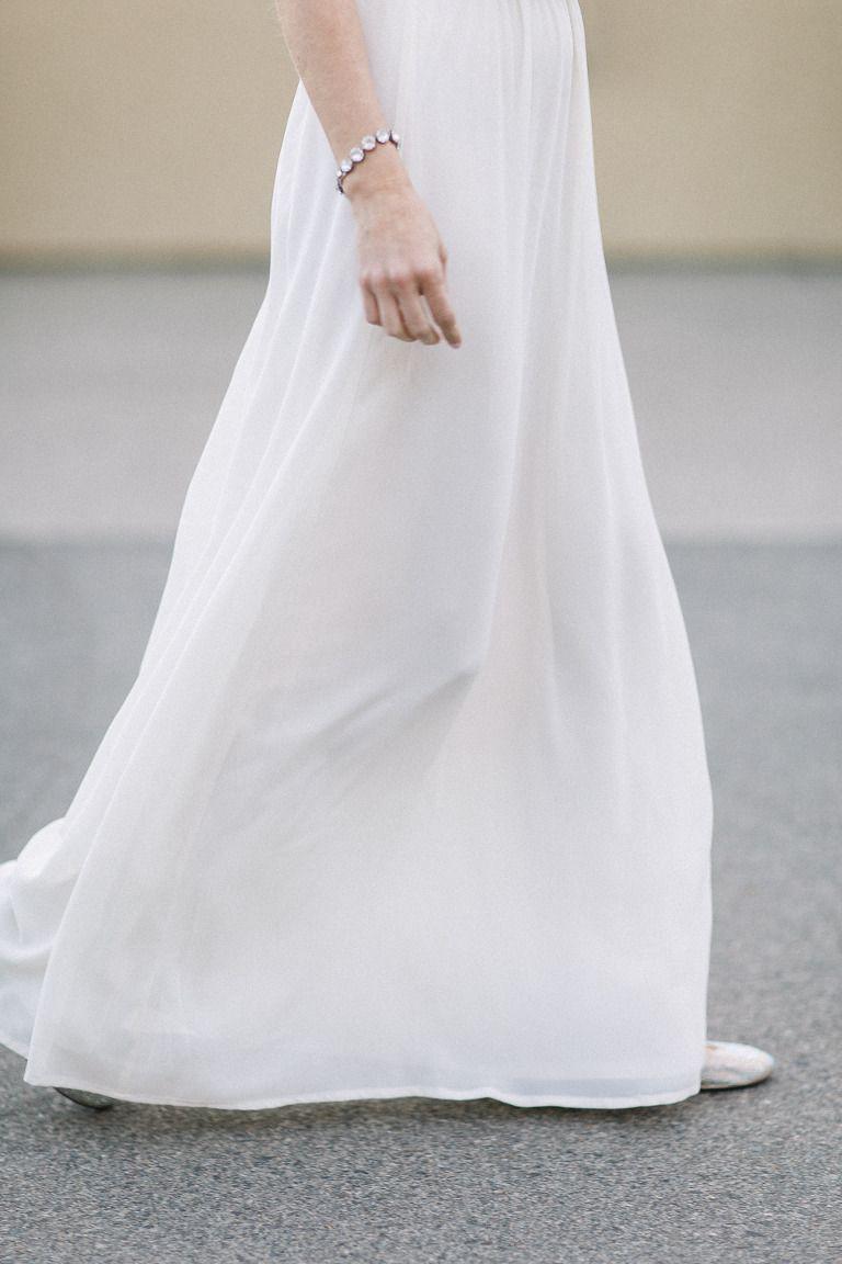 Wedding dresses com  White Silk Wedding Dress Osoyoos Wedding Dress Walking in Wedding
