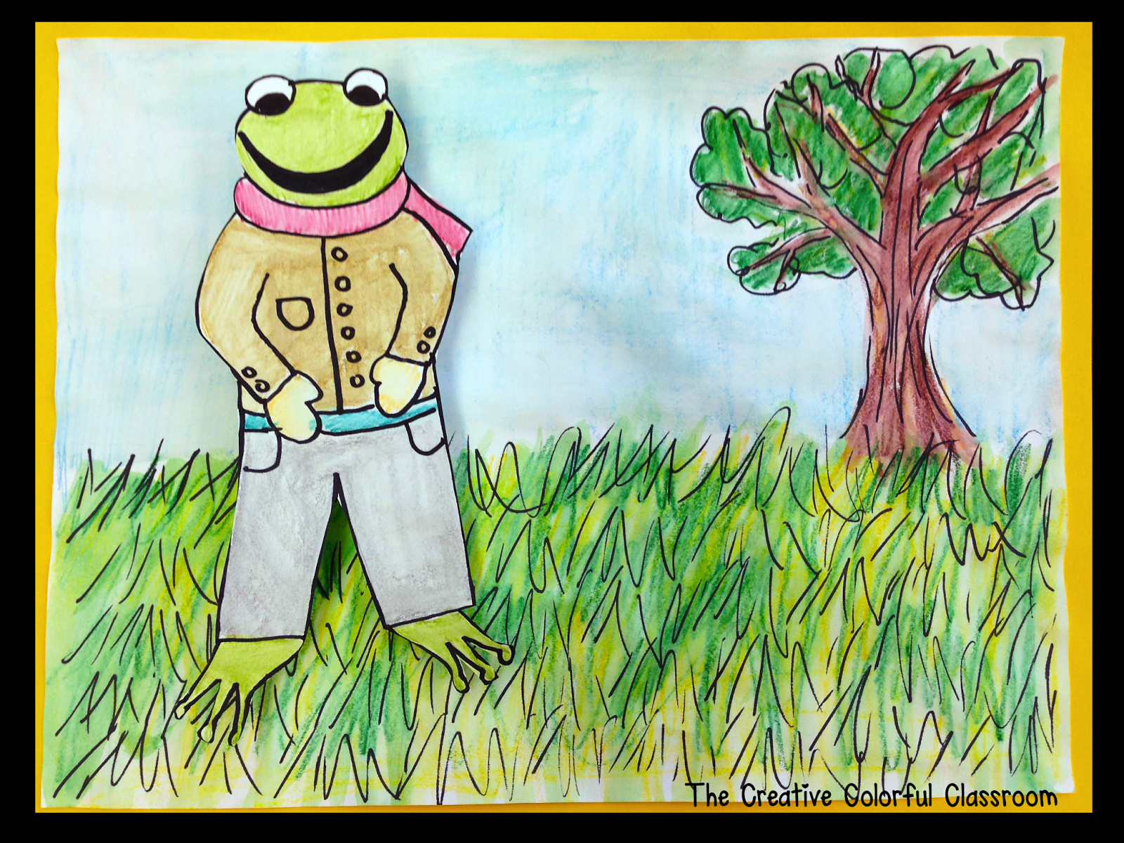 Directed Character Drawing With Frog And Toad From The