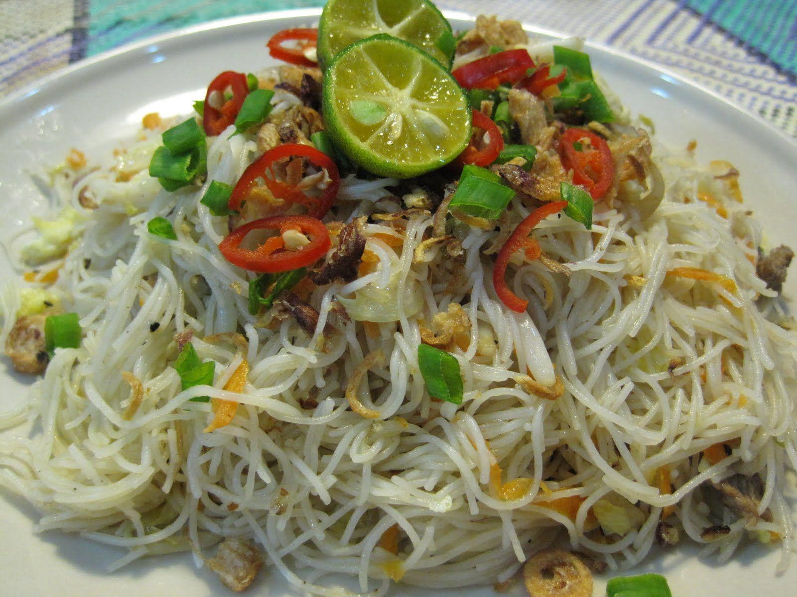 Mee Hoon Goreng Singapore | Resepi Minggu Ini | Malaysian Food | Pinterest | Singapore, Menu and