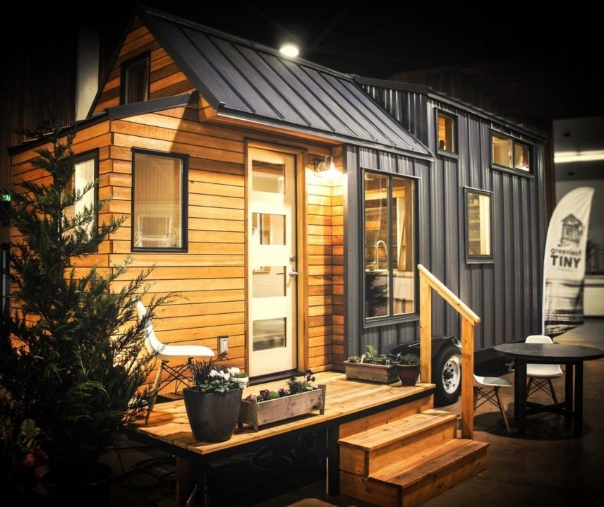 Tiny Modern House On Wheels kootenay tiny house on wheelsgreen leaf tiny homes 001 | tiny
