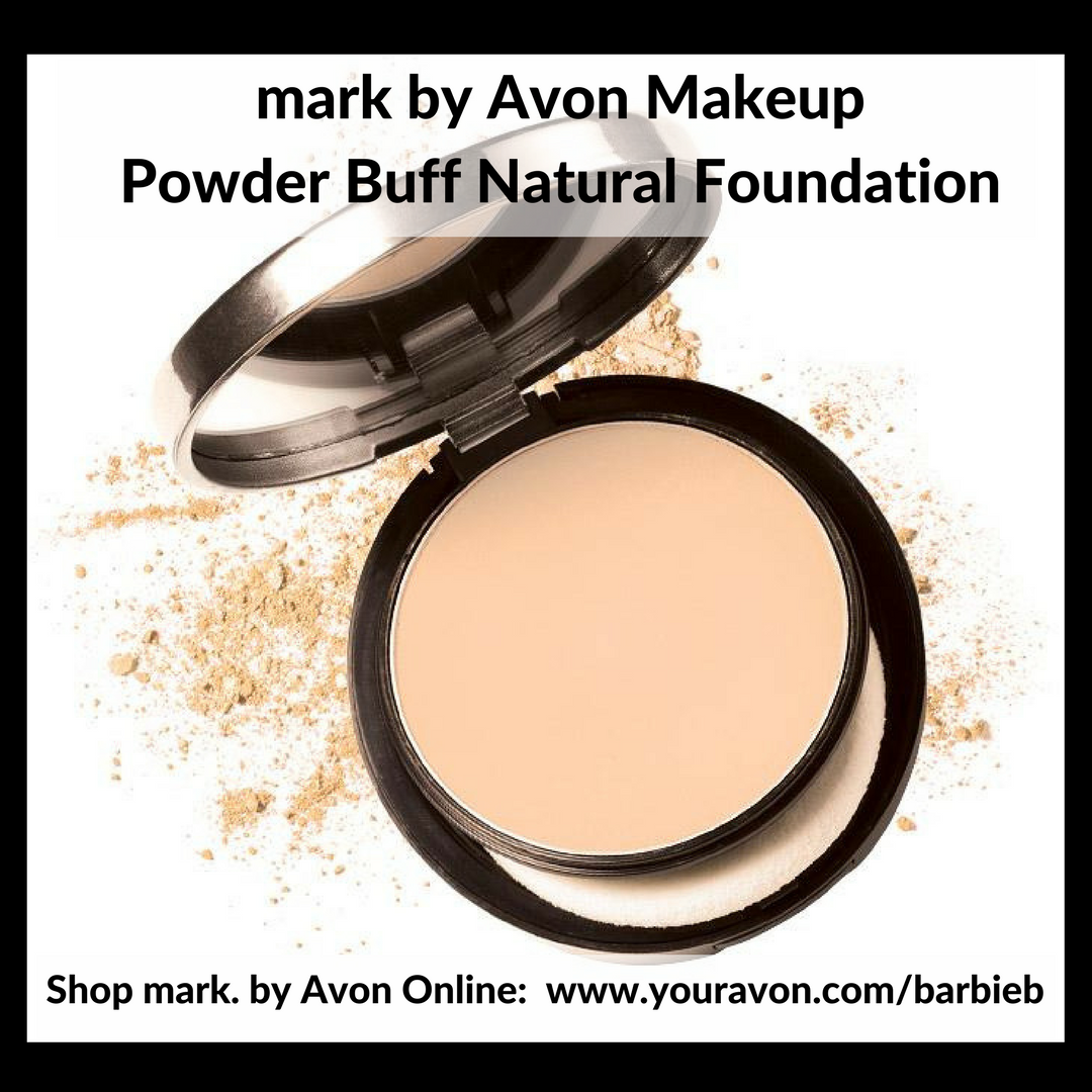 mark by Avon Powder Buff Natural Foundation  - new makeup relaunch Campaign 10 - shop mark by Avon Makeup http://barbieb.avonrepresentative.com