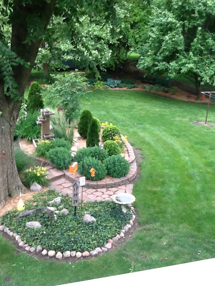 Our Butterfly Garden. Garden, Landscape, Outdoor