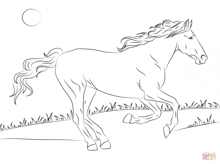 Free Coloring Pages Within Download Criollo Horse Coloring Pages Horse Coloring Pages Horse Coloring Books Horse Coloring