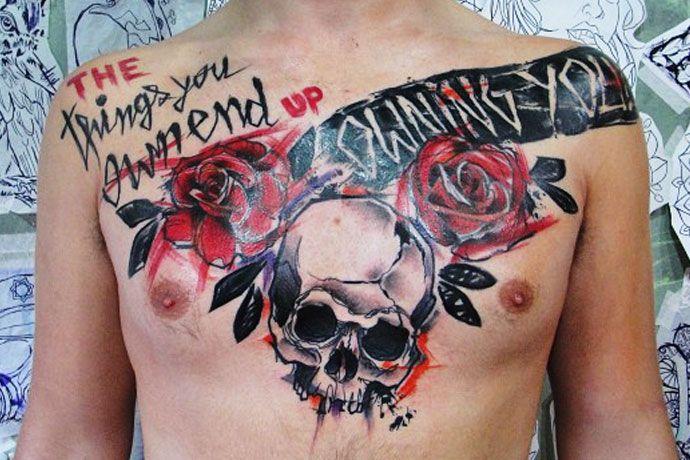 Trash Tattoo de André Cruz. Com estilo próprio ele é especialista em Trash Tattoo, vamos conhecer um pouco mais a história desse incrível artista.