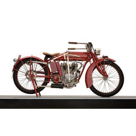 1917 Indian 7hp Powerplus Motorcycle Canvas Art Panoramic Images 12 X 20 Indian Motorcycle Vintage Indian Motorcycles Motorcycle