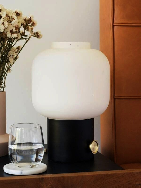 Table Lamp Give your table or bedside the perfect amount of light with the Token Table Lamp The globeinspired glass top emits a soft ambient glow Table Lamp FurnitureGive...