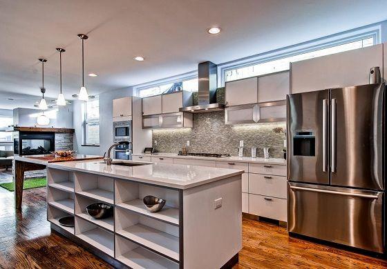 Interior Design Style: Scandinavian Modern Kitchen