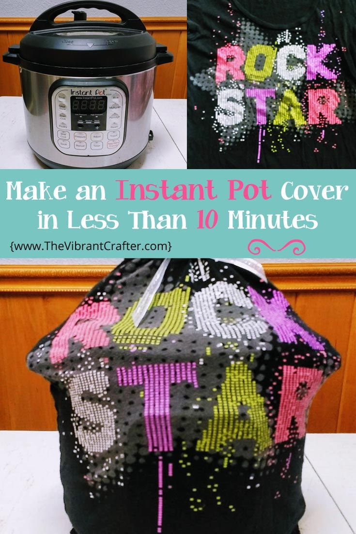 Make a cool and unique cover for your Instant Pot using a colorful ...