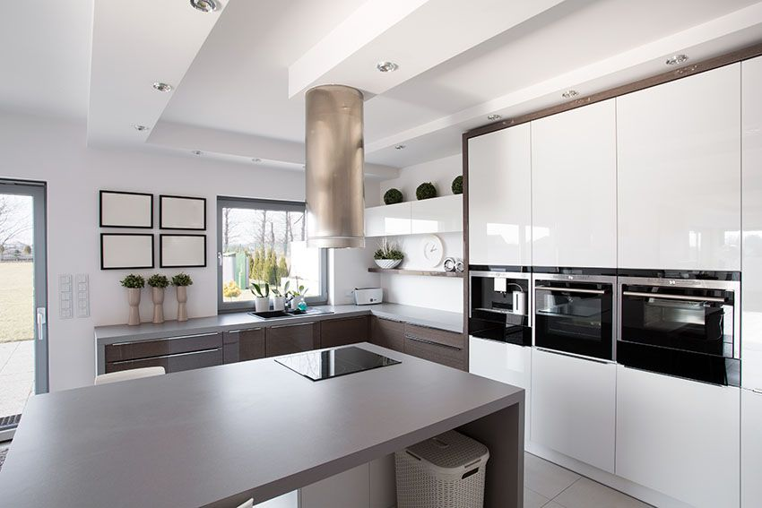 28 Modern White Kitchen Design Ideas Photos White Modern Kitchen White Marble Kitchen Modern Design Your Kitchen