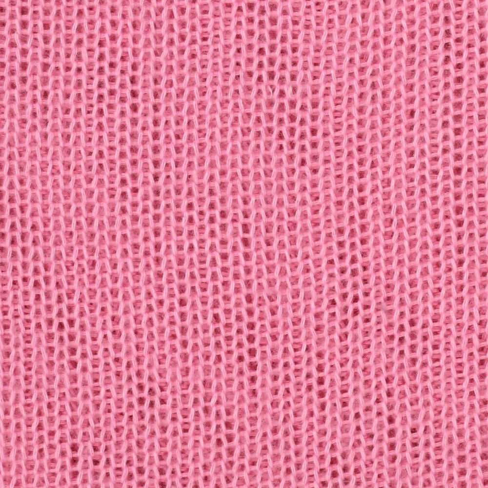 Acrylic Open Weave Sweater Knit Pink - Discount Designer Fabric ...