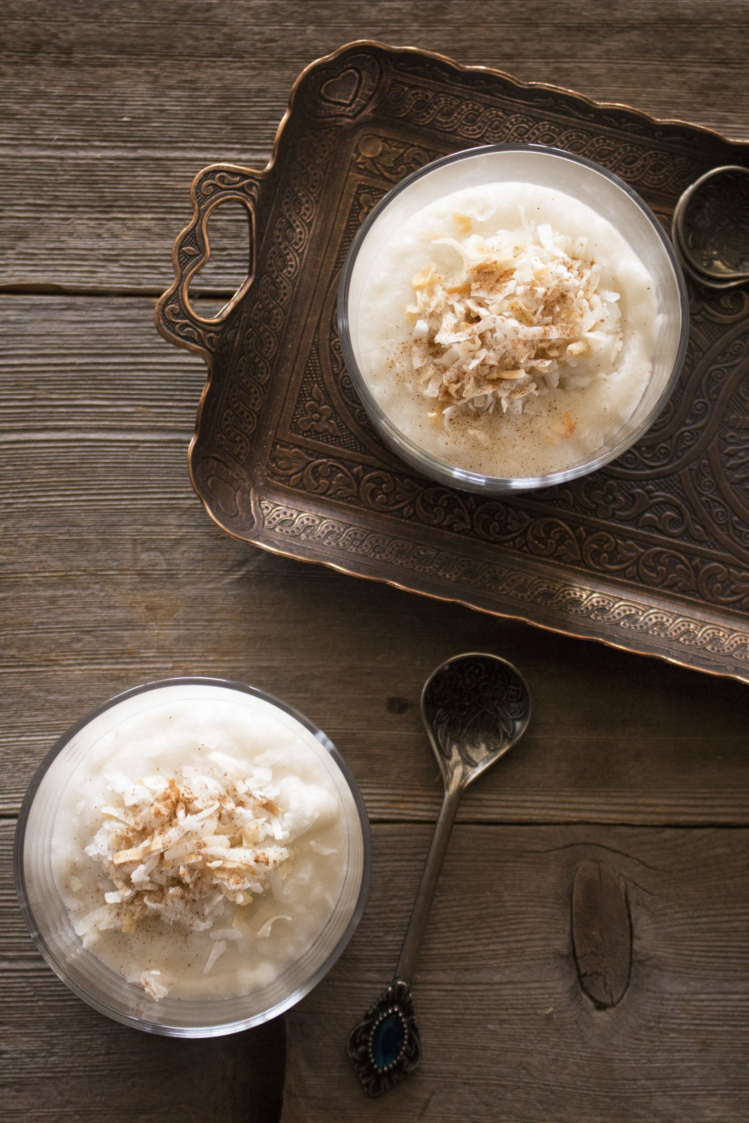 Rice Pudding with Coconut Milk | iranian food and desserts ...