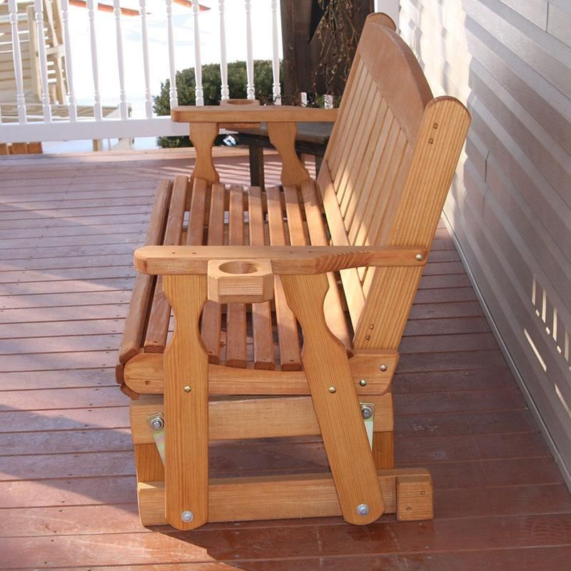 Centerville amish heavy duty 800 lb mission treated porch