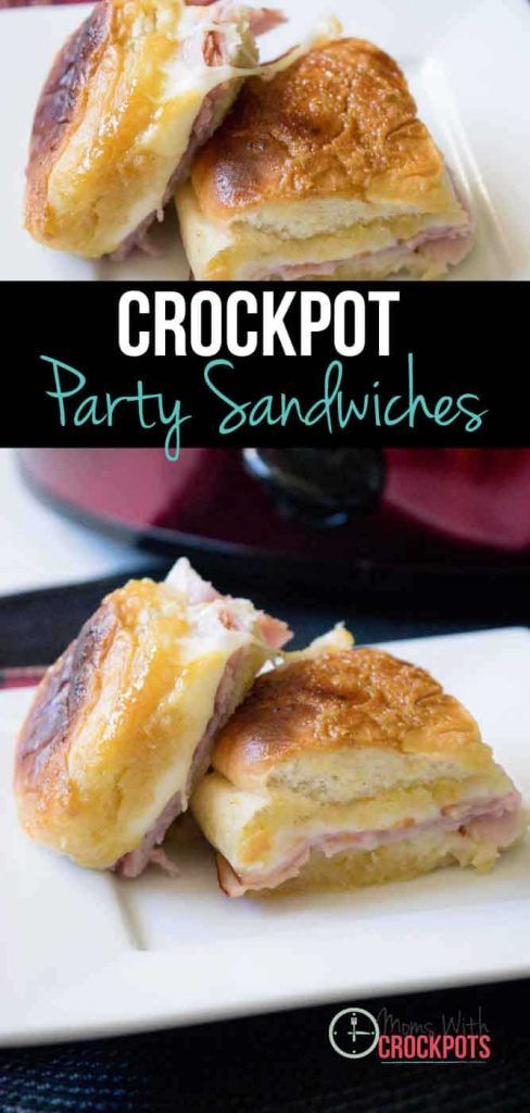 Crockpot Party Sandwiches Recipe - Moms with Crockpots
