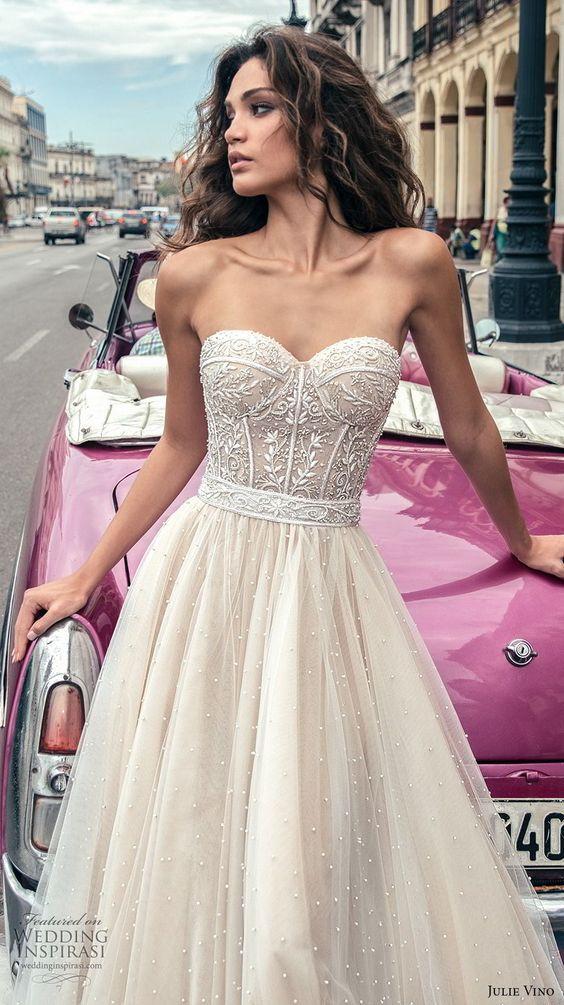 Julie Vino Herbst 2018 Brautkleider | wedding | Pinterest | Hochzeit ...